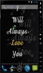 Always Love You Live Wallpaper screenshot 2/2