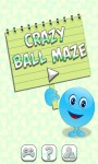 Crazy Ball Maze screenshot 1/6