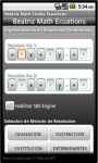Beatriz Math Studio Ecuations screenshot 2/5