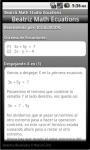 Beatriz Math Studio Ecuations screenshot 4/5