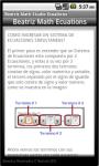 Beatriz Math Studio Ecuations screenshot 5/5