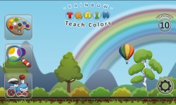 Rainbow Train teach colors screenshot 1/6