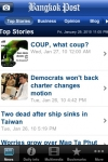 Bangkok Post News for iPhone screenshot 1/1