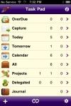Task Pad for iPhone screenshot 1/1