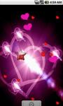 Glowing Heart Live Wallpaper screenshot 1/4