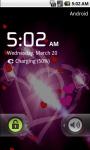 Glowing Heart Live Wallpaper screenshot 4/4