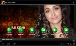 Jiah Khan Fan App screenshot 1/3