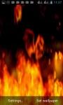 COZY FIRE PLACE LWP screenshot 1/3
