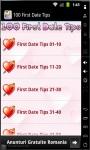 100 First Date Tips 2014 screenshot 1/3