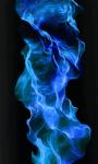Blue Fire Wallpaper Free screenshot 2/6