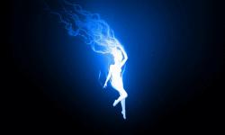 Blue Fire Wallpaper Free screenshot 5/6