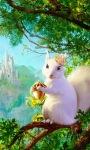 Squirrel Queen Live Wallpaper screenshot 1/3