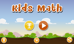 Educational games for kids : math for kids screenshot 1/6