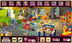 Free Hidden Object Games - Play Room screenshot 3/4