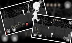 A Boy's Escape : Lost in the Haunted Dark Black screenshot 1/4