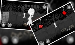 A Boy's Escape : Lost in the Haunted Dark Black screenshot 2/4