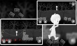 A Boy's Escape : Lost in the Haunted Dark Black screenshot 3/4