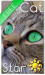 Cat Star Live Wallpaper screenshot 1/2