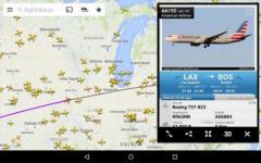 Flightradar24 - Flight Tracker alternate screenshot 1/6