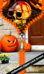 Halloween Zipper Lock Screen Best screenshot 1/6