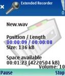 Psiloc Extended Recorder screenshot 1/1