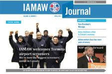 IAMAW Canada Journal screenshot 1/5