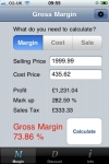 Gross Margin Calculator screenshot 1/1