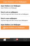 Arjen Robben Live Wallpaper Free screenshot 2/5