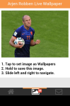 Arjen Robben Live Wallpaper Free screenshot 4/5