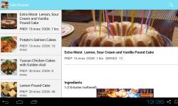 Incredible Cake Recipes screenshot 2/3