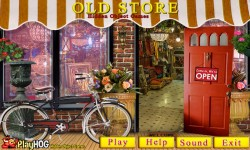 Free Hidden Object Games - Old Store screenshot 1/4