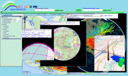 OpenWebGIS screenshot 1/4