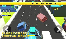 Blocky Crossy Traffic Racer screenshot 2/4