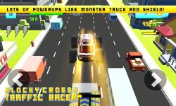 Blocky Crossy Traffic Racer screenshot 3/4