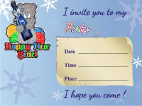 New Year Party Invitation Cards screenshot 1/3