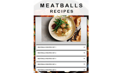 Meatballs recipes screenshot 1/3