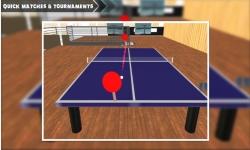 Ping Pong tabel tennis 3D screenshot 3/5