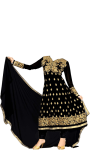 Anarkali dress suit images screenshot 3/4