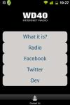 WD40 Radio screenshot 1/2