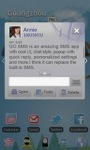 GO SMS Pro Basketball theme screenshot 5/6