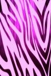 Hot Pink Zebra Print Live Wallpaper screenshot 1/2