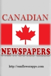 Canadian Newspapers - Calgary Herald, Calgary Sun, Edmonton Journal, Edmonton Sun, The Globe and Mail,Toronto Star, Toronto Sun screenshot 1/1