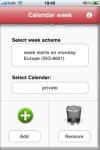 Calendar week sync screenshot 1/1