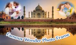 Famous Wonder Photo Frame screenshot 2/6