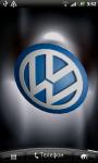 Volkswagen 3D Logo Live Wallpaper screenshot 1/6