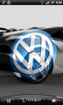 Volkswagen 3D Logo Live Wallpaper screenshot 4/6