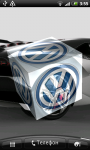Volkswagen 3D Logo Live Wallpaper screenshot 5/6