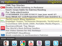 IngBoo WebStart for BlackBerry screenshot 1/1
