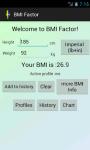 BMI Factor screenshot 1/4