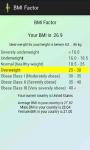 BMI Factor screenshot 2/4